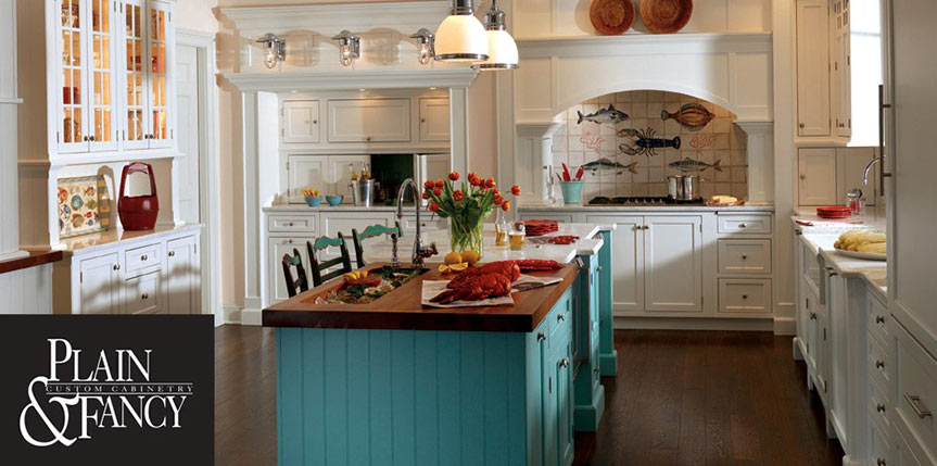 Plain and Fancy Cabinets | B&T Kitchens & Baths