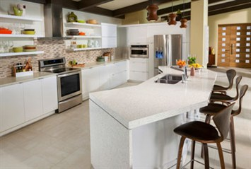 Eos Countertops Bridges The Gap Between Seamless Solid Surface And High End  Laminate. The Patent Pending 3cm (1 1/4u2033) Material Offers All The  Advantages Of ...